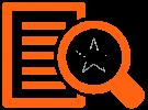 Icon Fokus orange